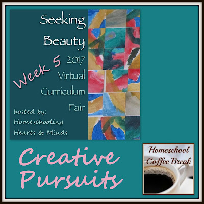 Creative Pursuits - Virtual Curriculum Fair Week 5 - (Seeking Beauty) on Homeschool Coffee Break @ kympossibleblog.blogspot.com  #hsCurriculumFair #homeschool #arts #music