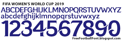fifa women s world cup 2019 france font