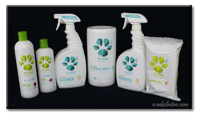 Six PL360 cleaning supplies