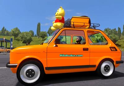 Euro Truck Simulator 2 Fiat 126 v 2.0 Araba Modu (1.27) İndir 2017