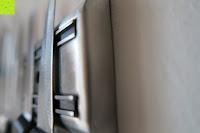 Seitenansicht: Andrew James – Professioneller Magnetmesserhalter Aus Edelstahl – 45cm