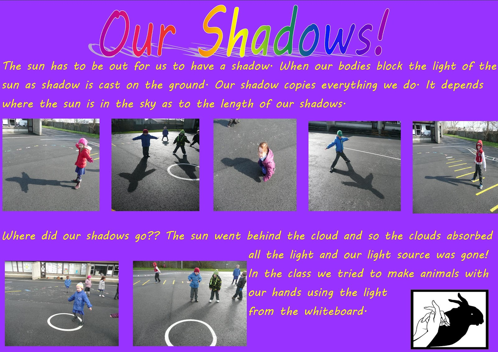 Science Projects Junior Infant Shadows