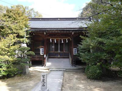 意賀美神社(枚方市) 拝殿