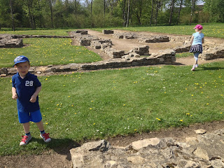 Exploring the Roman Villa Ruins