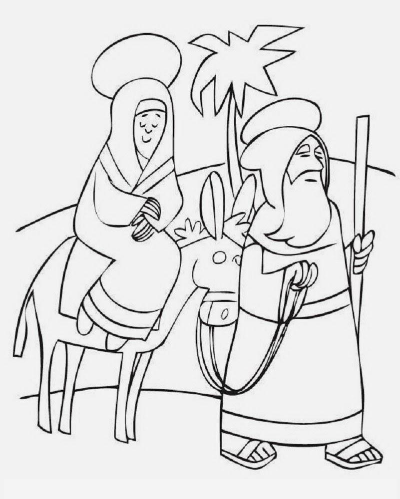 Disegni Da Colorare (Nativity