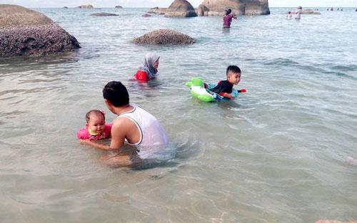 wisata pantai pulau bangka tanjung kelayang
