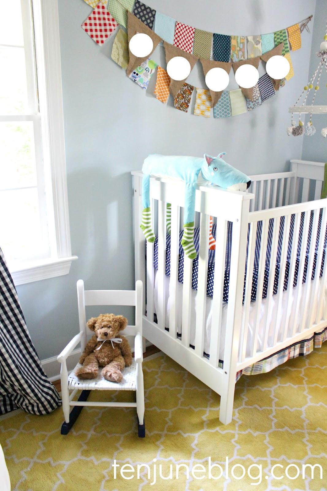 Ten June: Baby Boy Nursery Source List