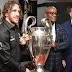 Ambode receives UEFA Champions League trophy