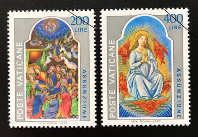 春巻切手帖: beautiful stamps: バチカン、オーストリア、スロバキア ...