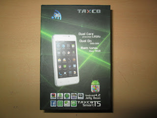 Hape Android Murah Taxco T5 New Dual SIM Display 4inch Dual Camera