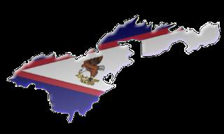 American Samoas Map
