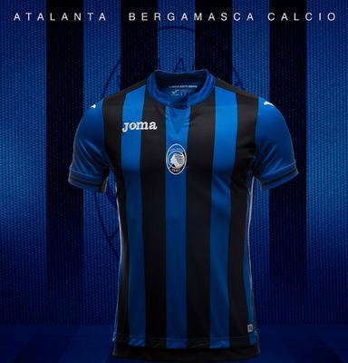 Camisetas centro de Futbol 2018-2019  Joma camiseta Atalanta primera ... 376ddfe6a3dbb