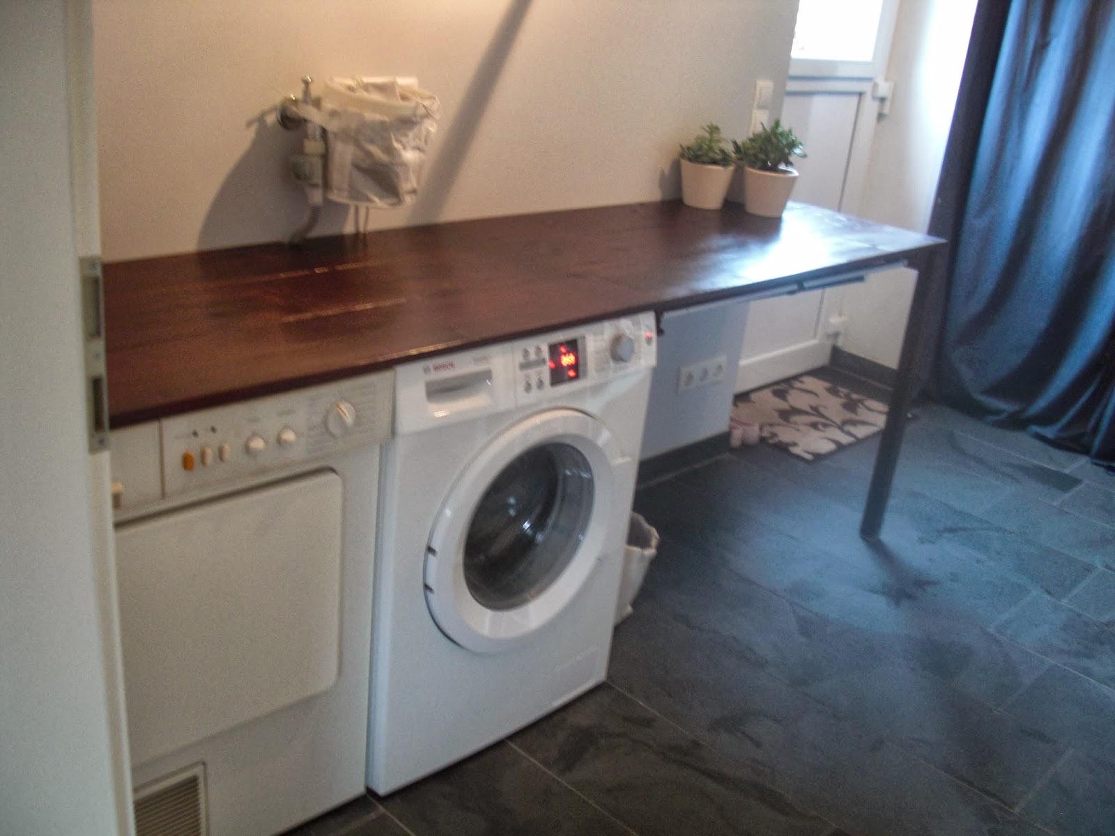 Elegant Waschmaschine Und Trockner Im Bad Verstecken Ideen