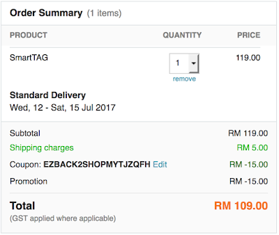 Buy Touch 'n Go Smart Tag Price Lazada Malaysia Online Purchase