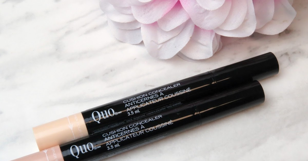 Kaitlyn Elisabeth Beauty New In Quo Cushion Concealer