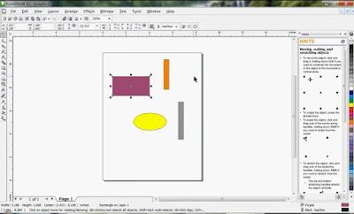 video Tutorial Mudah belajar dasar desain dengan CorelDraw
