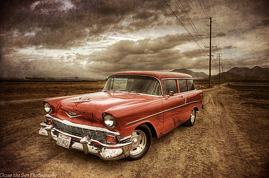 HDR Vintage Cars Photography
