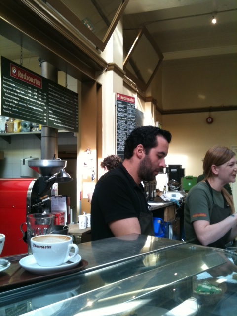 Redroaster Coffee House, Brighton, UK photo by Modern Bric a Brac