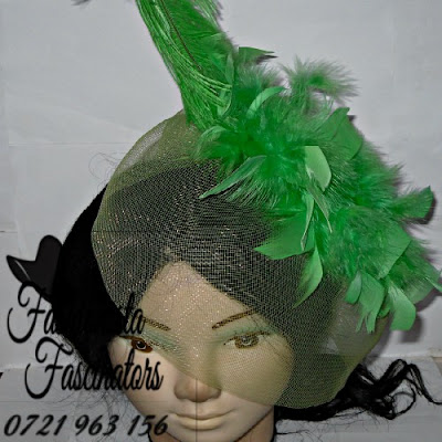 Buy green party fascinator hats Nairobi Kenya