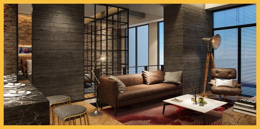 SOHO Upper west - Tipe 2 Bed Room