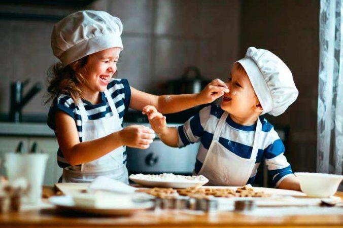 Ideas para hacer más divertida la comida de los niños