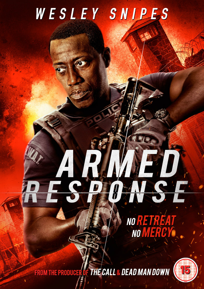 wesley snipes armed response dvd