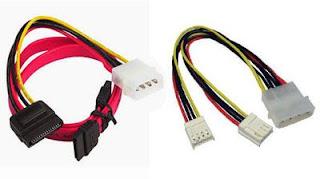 Kabel Power Hardisk + Flopy Disk + CD ROM