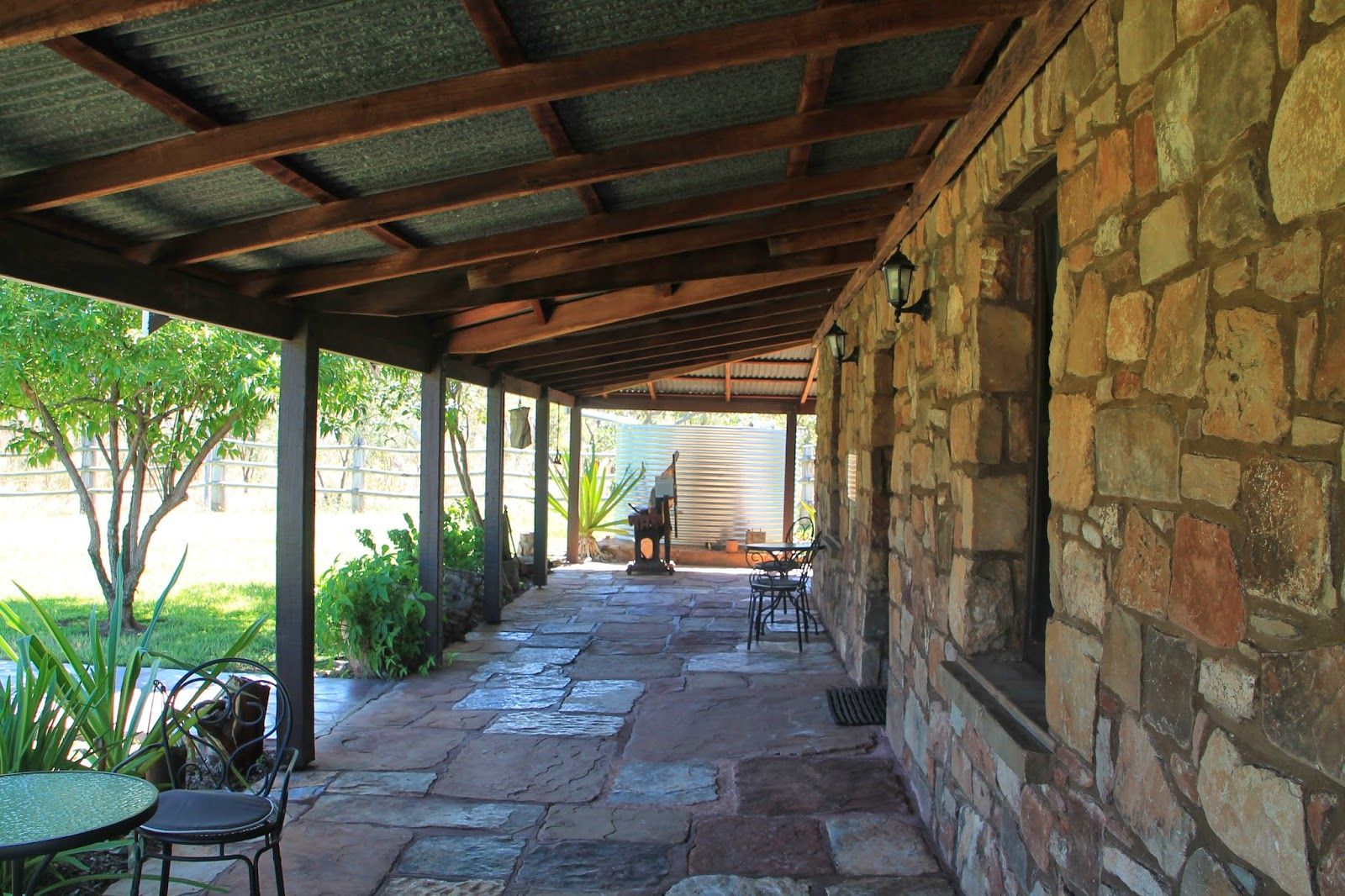 Mary Durack's home. Taken by me at Lake Argyle, WA