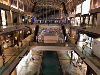 Centro comercial de Marina Bay