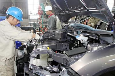 Tuyển 30 nam xuất khẩu lao động làm linh kiện ô tô tại Nhật