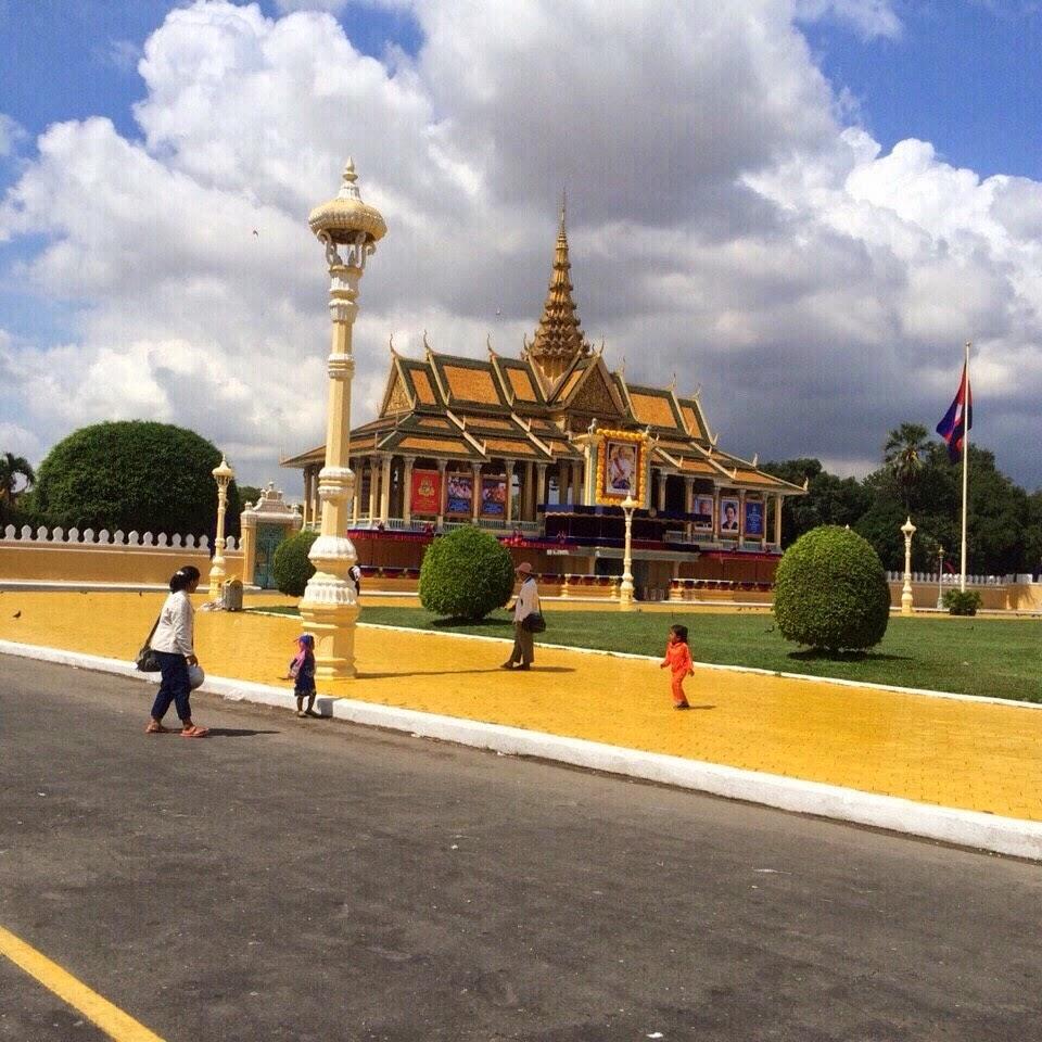 Hoàng cung, Chùa vàng chùa bạc Phnôm Pênh Campuchia