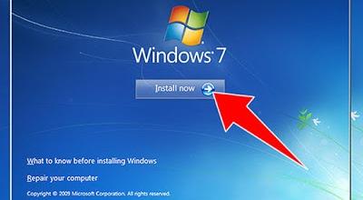 How to Install Windows 7 Step by Step in Hindi - विंडोज 7 इंस्टॉल करना सीखें