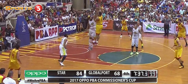 Star Hotshots def. GlobalPort, 103-77 (REPLAY VIDEO) March 25