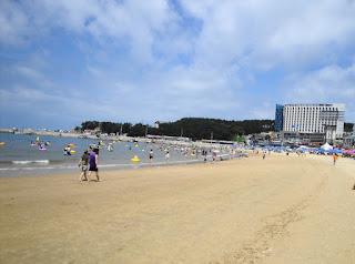 Eurwangni Beach - Korea