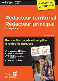 Concours Rédacteur Territorial Et Rédacteur Principal PDF