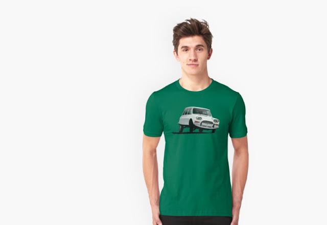 Citroën Ami 8 t-shirt vintage