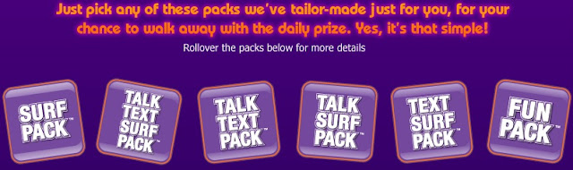 6 customized packs for various savings
