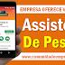 ASSISTENTE DE PESSOAL COM SALÁRIO R$ 1.410,61 PARA EMPRESA EM OLINDA