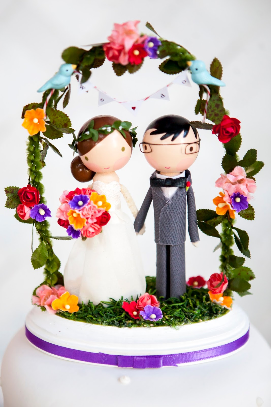 Glass Dome For Cake Toppers