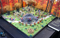 Wood Elves Orion's Ritual display - Armies on Parade bronze