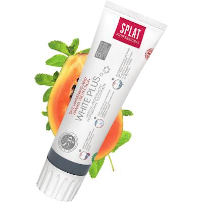 Splat Professional WHITE Plus bezpieczne wybielanie zębów i ochrona szkliwa