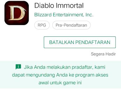 Gambar game yang tidak ada di playstore karena belum diluncurkan oleh pihak developer