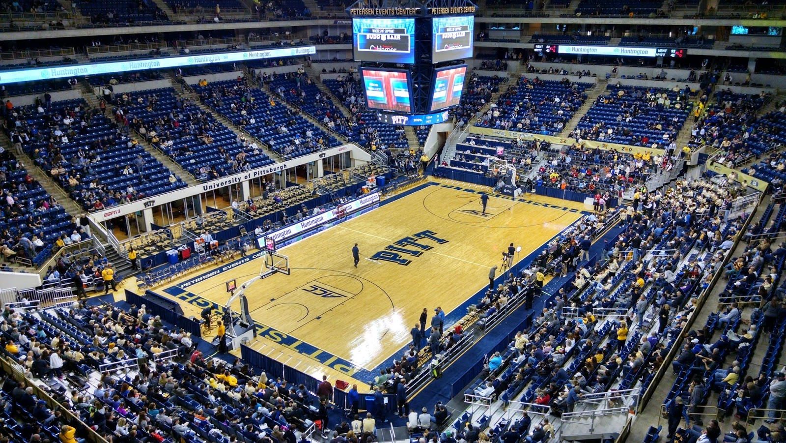 University Of Pittsburgh Petersen Events Center Pa