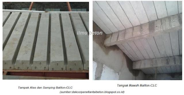 Baliton-CLC (Balok Lantai Beton - Cellular Lightweight Concrete)