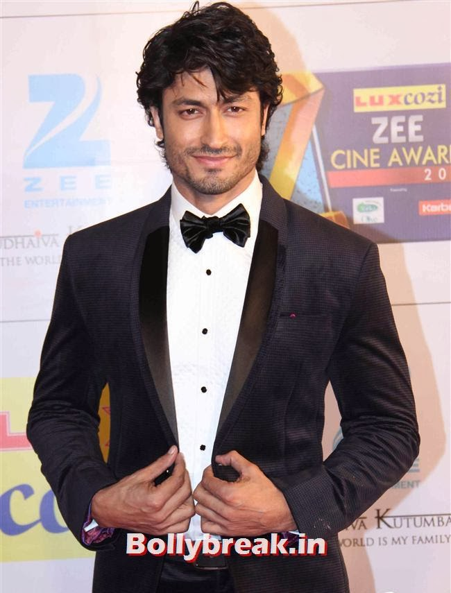 Vidyut Jamwal, Zee Cine Awards 2014 Red Carpet Pics