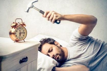 Cara Ampuh Mengatasi Susah Bangun Pagi