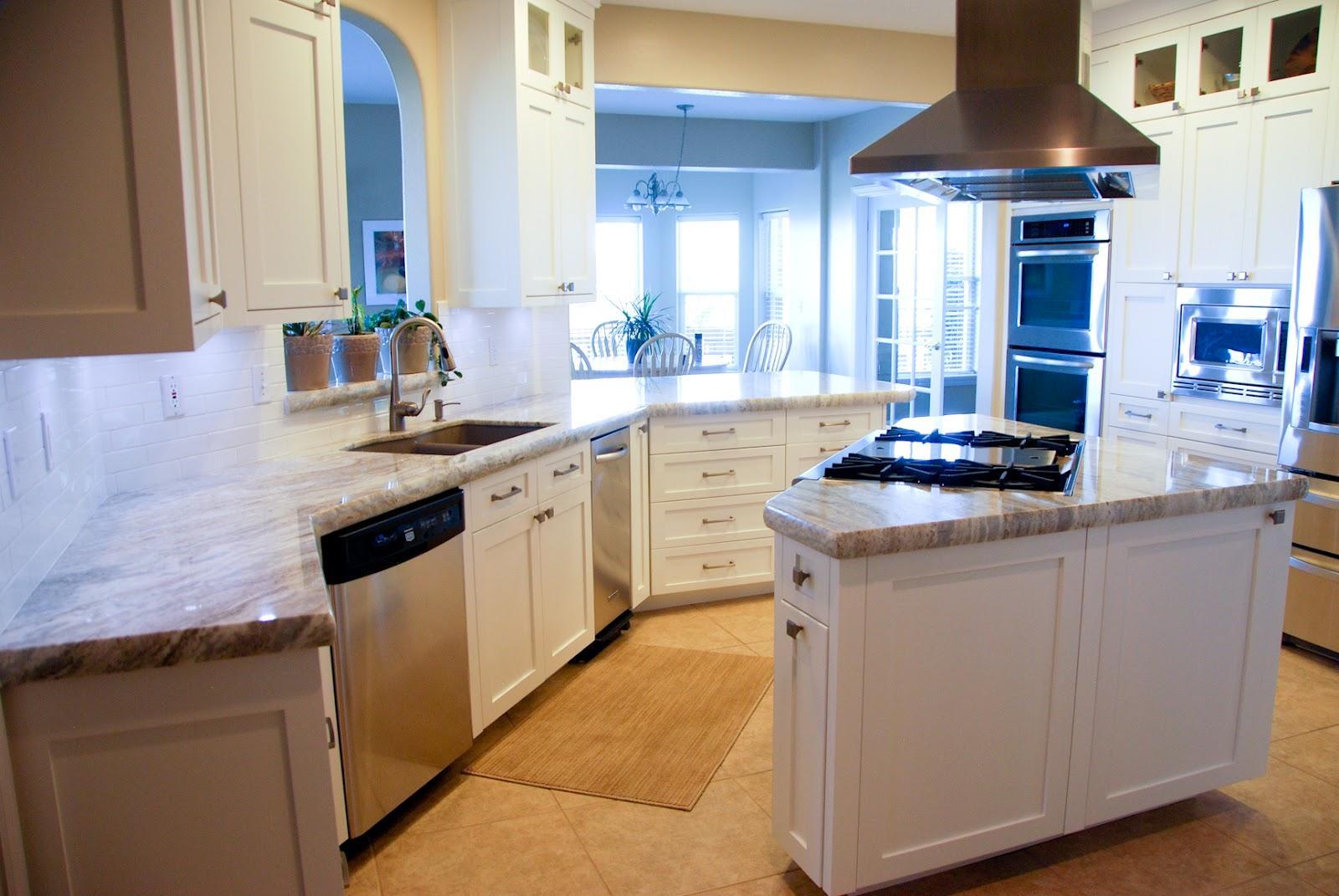 The Granite Gurus Fantasy Brown Granite Kitchen From Mgs