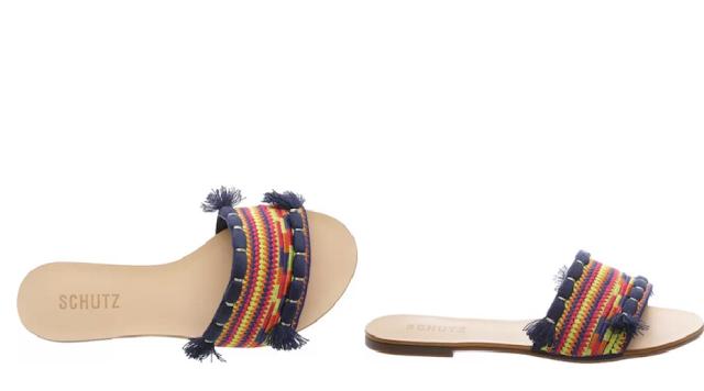 chinelo slide tendência moda verão