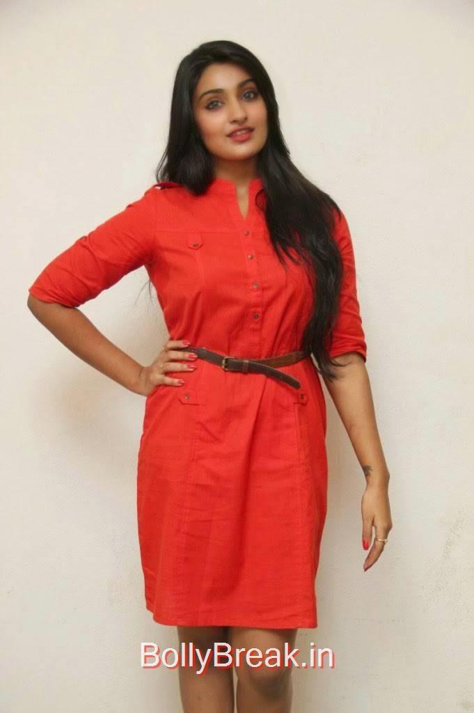 Jai Quehaeni images, Actress Jai Quehaeni Hot Pics in red Dress